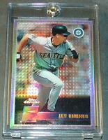 1996 JAY BUHNER TOPPS CHROME REFRACTOR #109 MARINERS SHARP