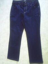 "Women Riders Copper Dark blue Jeans ~ 33"" Inseam ~ Size 17/18 M"