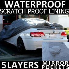 2011 MAZDA RX-8 5LAYERS WATERPROOF CAR COVER w/MirrorPocket