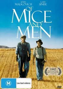 OF MICE AND MEN (2014) Region 4 [DVD] John Malkovich Gary Sinise