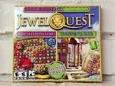 2 jewel quest mystery adventure computer games --- new