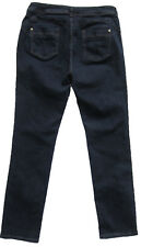 New Womens Marks & Spencer Per Una Blue Slim Leg Jeans Size 14 Short DEFECTS