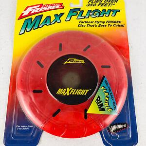 NOS Vintage 1996 WHAM-O Original FRISBEE Disc MAX FLIGHT