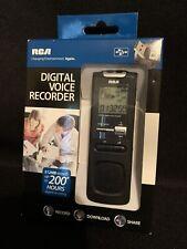 RCA VR5220 512MB Digital Voice Recorder Retractable USB 200 Hours