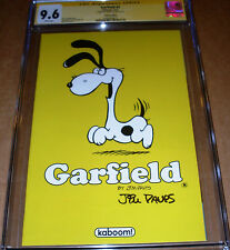 Garfield #2 Variant CGC SS 9.6 SIGNED Jim Davis KaBoom 1:10 Limited Odie Virgin
