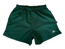 adidas vintage Shorts Gr. D7 L Sporthose 90s 00er kurze Sport Hose grün ZZ4
