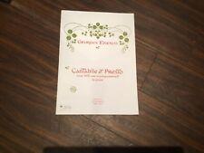 Cantabile and Presto Georges Enesco. Enoch Edition.