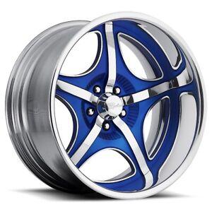 "17"" Custom 2 Piece Raceline Billet Wheels 17"" - 24"" Suit Holden, Ford, Chev"