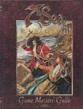 7 th Sea Game Masters Guide 1668 HC  NEW  OOP  AEG 7002