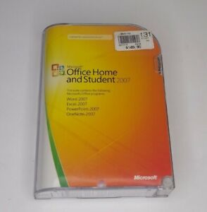 Genuine Microsoft Office Home and Student 2007 w/ Product Key