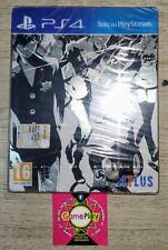 PERSONA 5 STEELBOOK PS4 COPERTINA ITALIANO