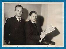 1930'S B/W PHOTO PRINCE HUBERTUS VON LOWENSTEIN OPPONENT OF HITLER