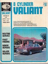 8 CYLINDER VALIANT (1965/70) - S.P. Service and Repair Manual No 69