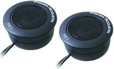 "NEW POWER ACOUSTIK NB-2 1"" 200W FLUSH-MOUNT CAR DOME TWEETERS BUILT IN CROSSOVER"