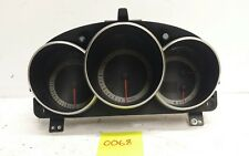 04-06 Mazda 3 2.3L AT Instrument Cluster Speedometer 161k