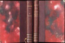 2 livres de  Morgan Le voyage et Portrait dans un miroir reliés Stock 1946
