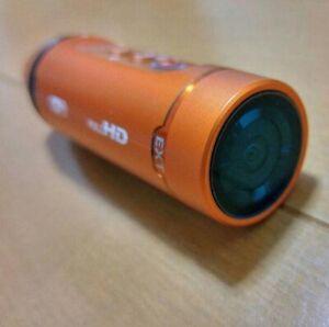Panasonic Wearable Camera HX-A1H-D Orange USED F/S JAPAN