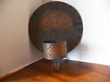 Copper Craft Brass Candle Sconce