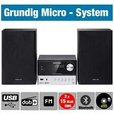 Grundig CMS 3000 BT Micro Anlage DAB+ CD Player Bluetooth Stereoanlage Kompakt
