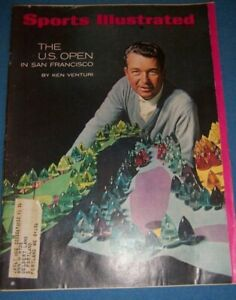1966 Sports Illustrated THE US OPEN by KEN VENTURI Olympic Country CLUB San Fran