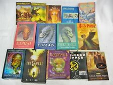 Christopher Paolini Riordan Yancey Stroud JK Rowling 14 Books lot Fantasy YA