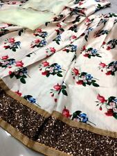 Indian Lehenga Choli Lengha Ghagra Chunri Designer Wedding Party Wear Saree Silk