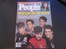 New Kids on the Block  - People Magazine 1990