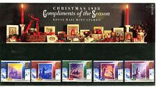 GREAT BRITAIN CHRISTMAS 1988 COMPLIMENTS OF THE SEASON PRESENTATION PACK 194