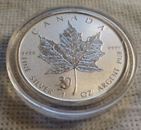 2016 Canada .999 Silver Monkey Privy RCM Maple Coin In Capsule