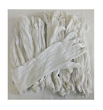 """Inspection Gloves 100% Cotton White 24 Pair 13"""" extra long 97500"""