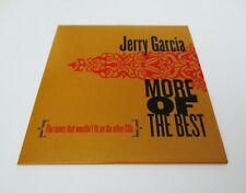 Jerry Garcia More Of The Best Bonus Disc CD Grateful Dead JGB Legion of Mary G/K