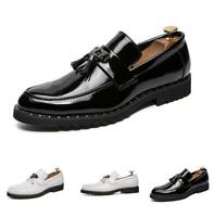 Men's Flats Pumps Loafers Shoes Tassel Slip on Breathable Non-slip Clubwear Chic