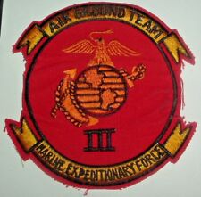 AMERICAN PATCHES-3rd U.S MARINE EXPEDITIONARY FORCE AIR GROUND TEAM VIETNAM