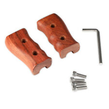 SmallRig Left and Right Wooden Handle for DSLR Cage with  1/4''Thread - 1751