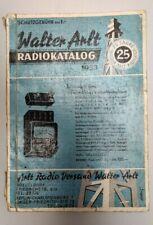 Buch/Heft Walter Arlt Radio Katalog 1953 Röhrenradio Schaltungen