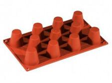 Stampi di silicone a forma baba 'mm  50 x 60 pasticceria e casa tutti tipi forno