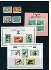 Gahna 1964/65 postfrische Ausgaben mit Block 14-16  (M5)
