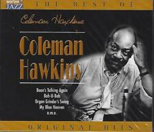 CD-COLEMAN HAWKINS-THE BEST OF-IMPORT-JAZZ-ORIGINAL HITS-FACTORY SEALED-NEW