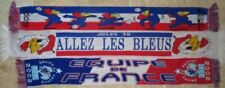 Écharpes  de collection sur l'équipe de France de football