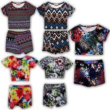 Mädchen-Tops, - T-Shirts & -Blusen aus Polyester mit Blumenmuster
