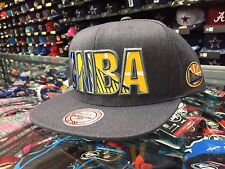 Golden State Warriors REFLECTIVE INSIDER Snapback Mitchell & Ness Gray NBA Hat
