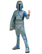 "Star Wars Kids Pre Vizsla Clone Wars Costume,M,Age 5-7, HEIGHT 4' 2""- 4' 6"""