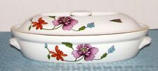 """Royal Worcester Eng. Astley Oven to Table 10 3/4"""" 1 Qt Oval Casserole & Lid EXC."""