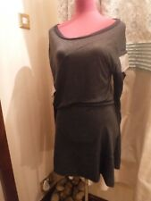 Amazing All Saints Lina Top / Dress Grey Size 10 Excellent Condition
