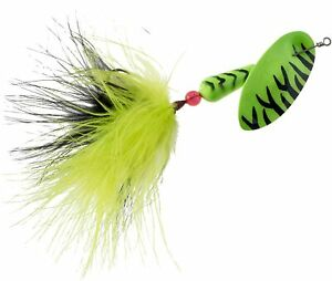 Panther Martin          FishSeeUV     Fluorescent Marabou  #12       Lime Tiger