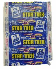 A&BC 1968 Star Trek 3D Picture Card Bubble Gum Variant Wax Wrapper