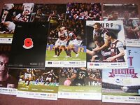 2014/15 Burnley v Hull City  Programme Premier League
