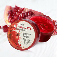 Made In Korea LUNES POMEGRANATE SOOTHING & MOISTURE GEL 100% Pure 300ml 10OZ