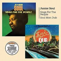 Junior Soul - Soul Man Dub/Sings for the People (2017)  2CD  NEW  SPEEDYPOST