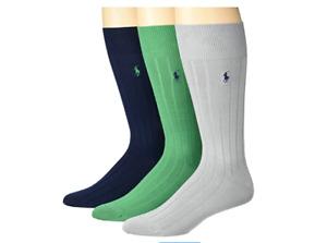 POLO RALPH LAUREN Set Of 3 Pairs Men's Socks